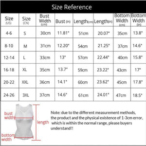 Contouring Compression Tank Top Shaper
