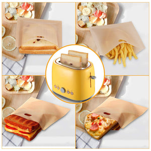Reusable Perfect Toaster Bag (5-pc Set)