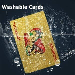 24k Gold Waterproof Playing Cards