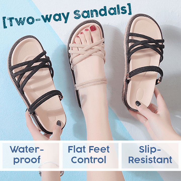2-way Waterproof Roman Sandals
