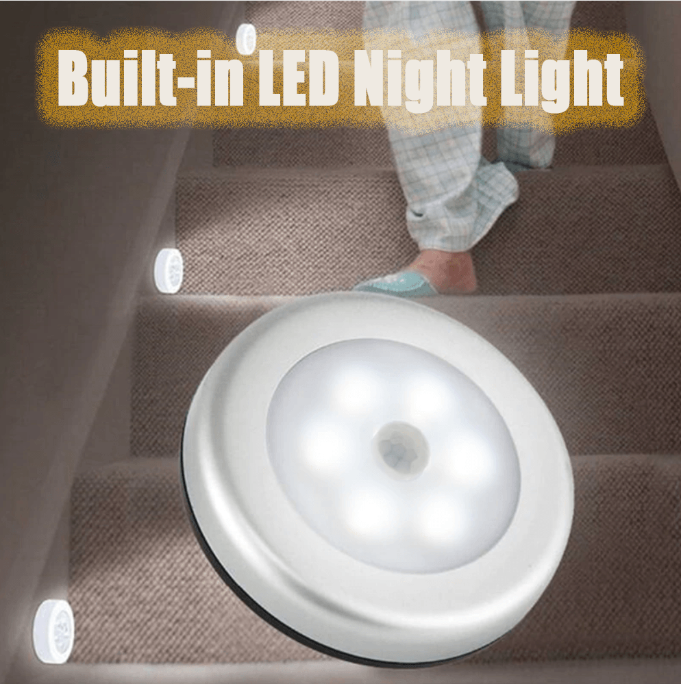 Built-in LED Night Light