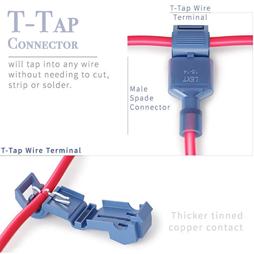T-Tap Connectors (60pcs/120pcs)