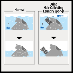 Hair Collecting  Laundry Sponge
