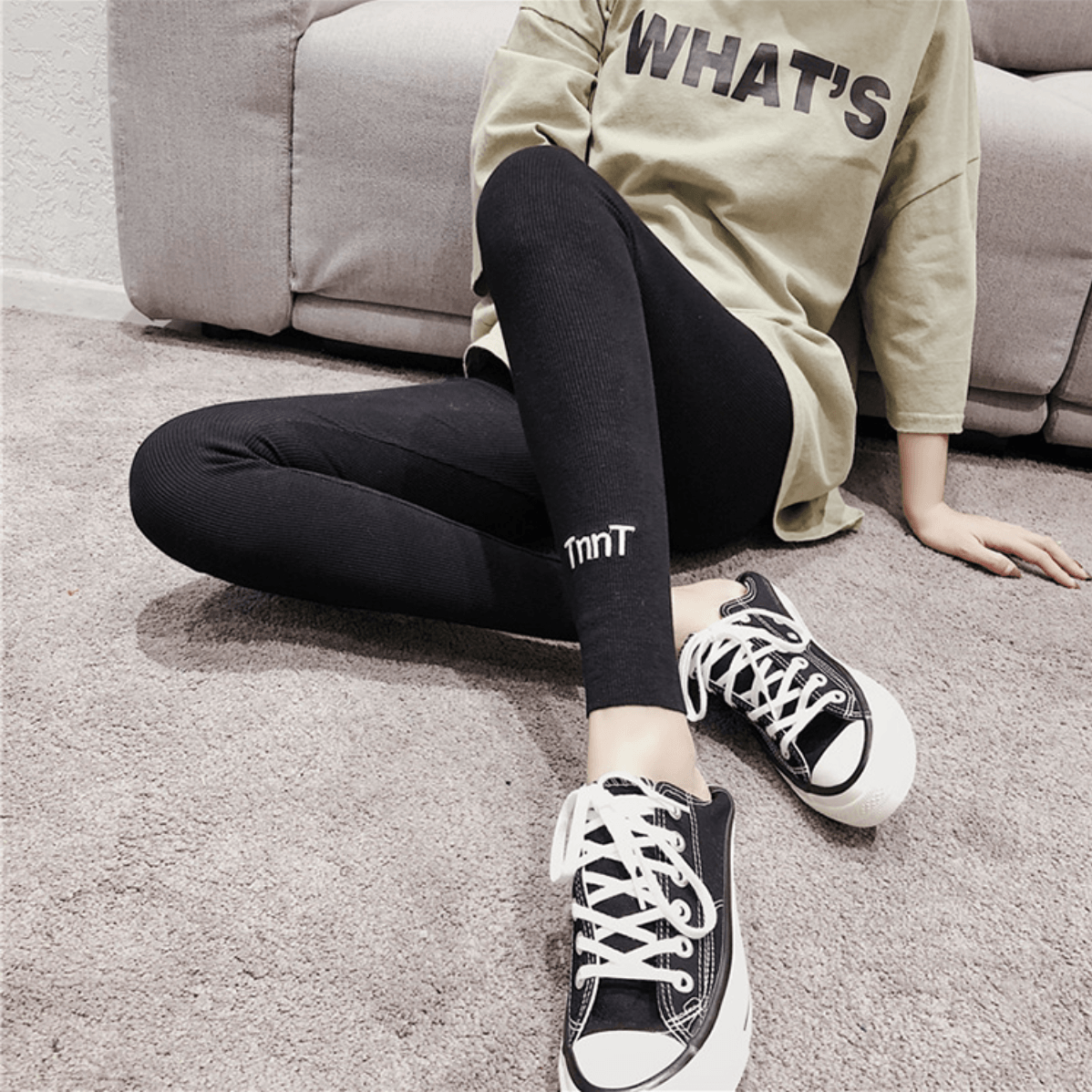 Fashionable Sculpting Cotton Leggings