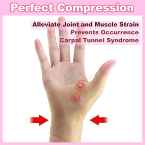 Advanced Magnetic Therapy Wrist and Thumb Gloves