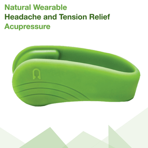 Natural Wearable Headache and Tension Relief Acupressure