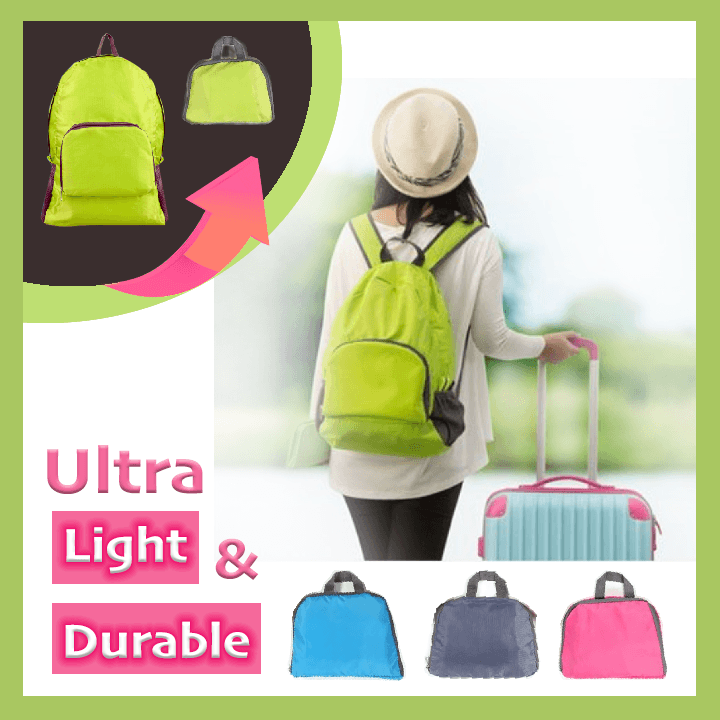 Foldable Ultra-Light Backpack