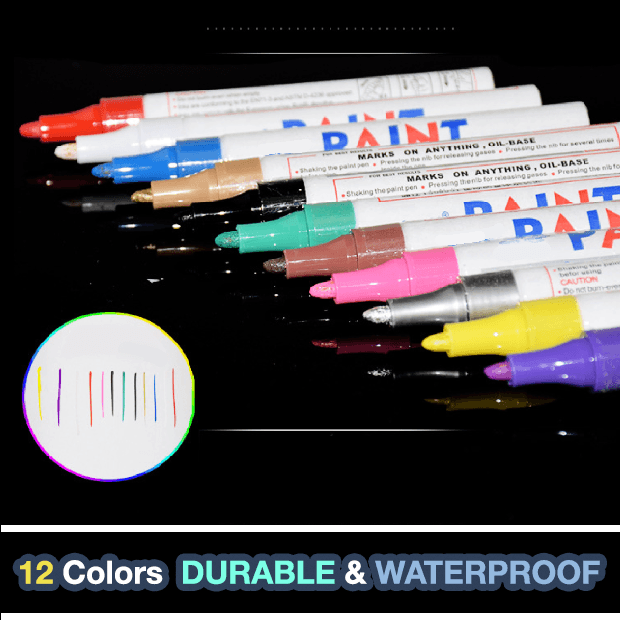 Waterproof Permanent Tire Marker Pen