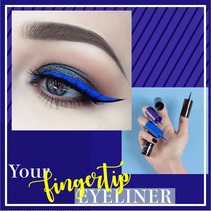 Easy Fingertip Eyeliner
