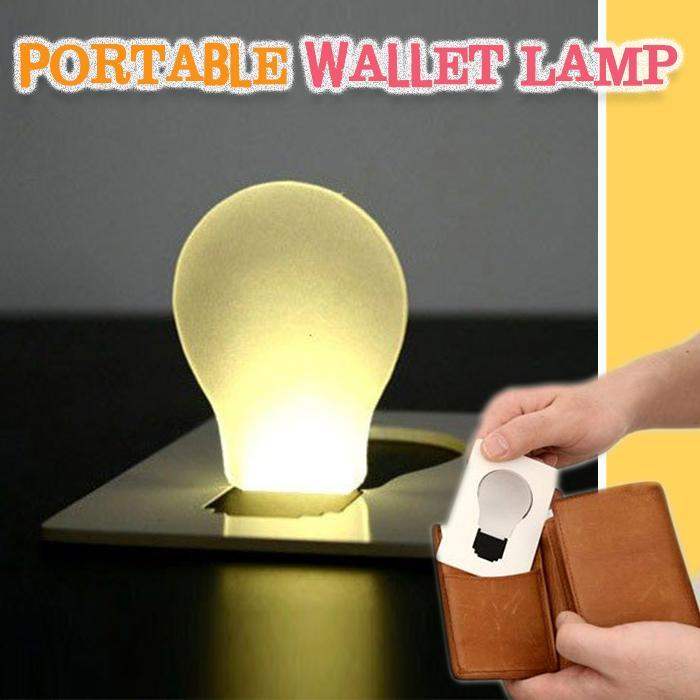 Portable Wallet Lamp