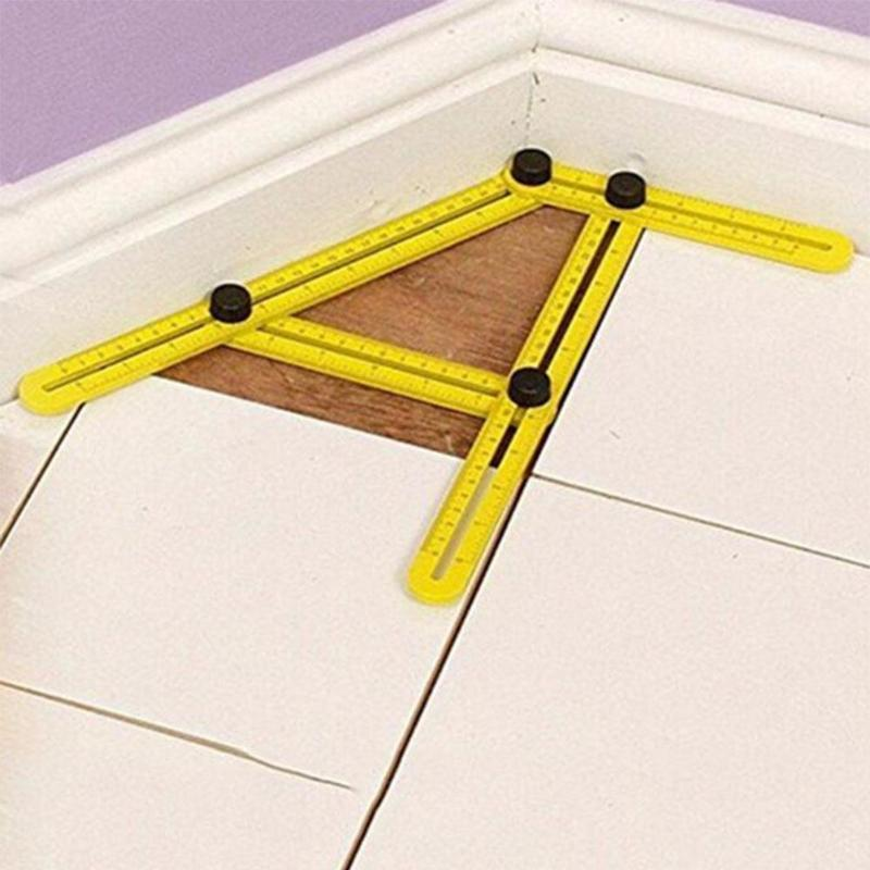 Multi Angle Folding DIY Angulariser Ruler