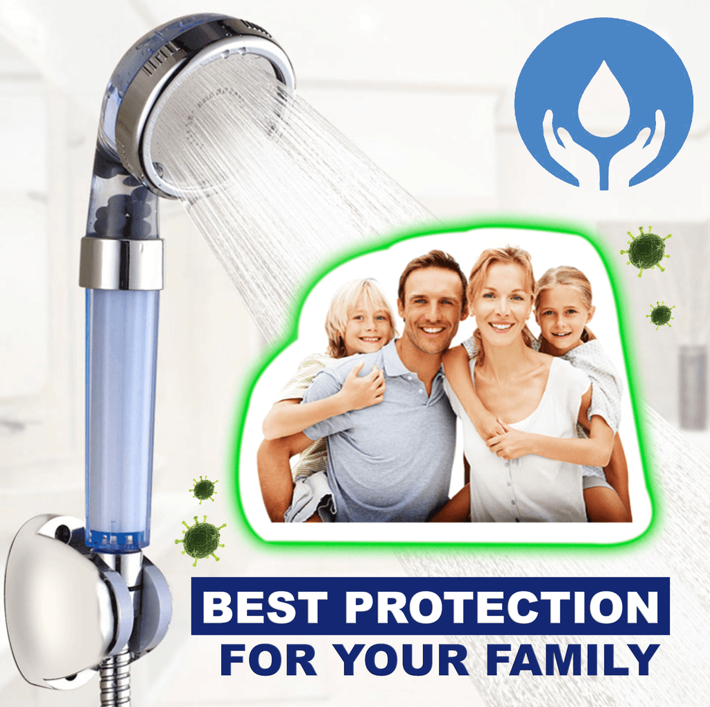 High Pressure Water-Saving Filtered Shower Head
