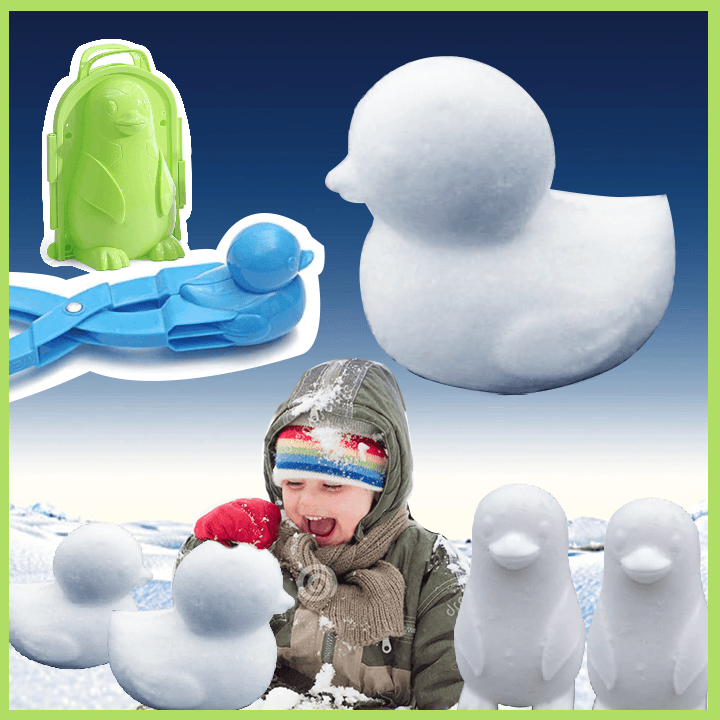 Adorable Duck Snowball Maker