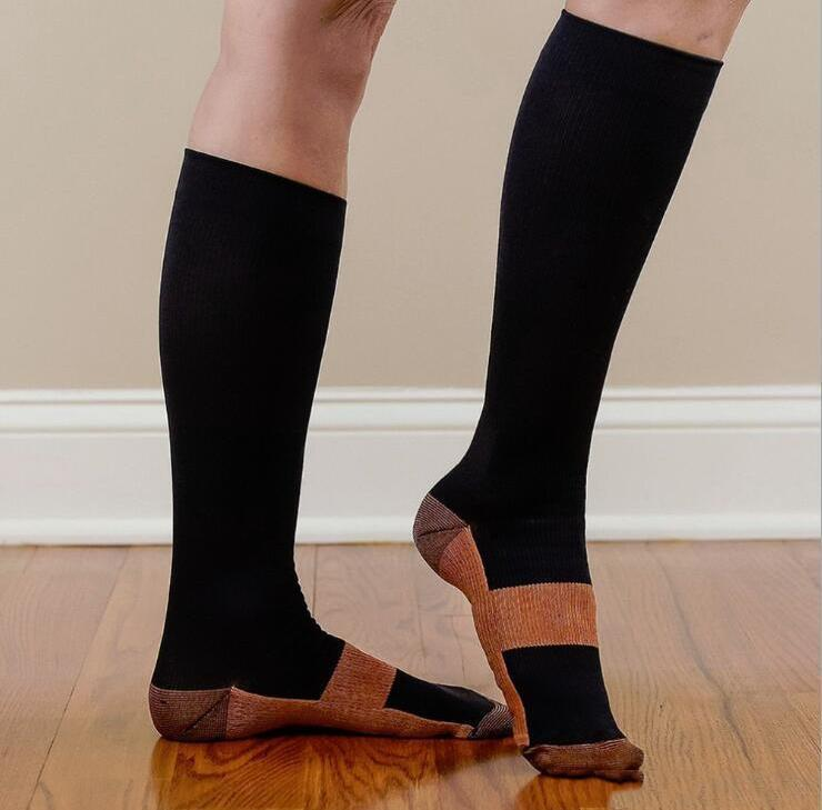 Leg Therapeutic Copper Infused Compression Socks