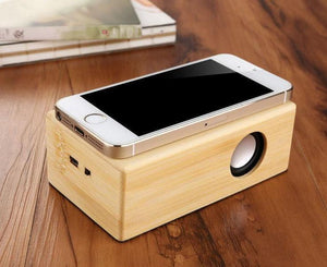 Smart Induction Wooden Speaker