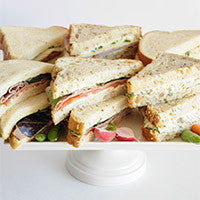 all bread sandwich tray