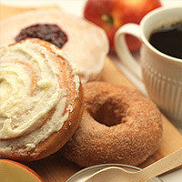 coffee + gourmet doughnuts for 12