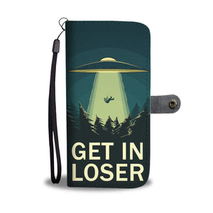 UFO Abduction Phone wallet