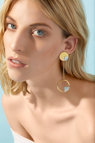 Superonda Chain Earring