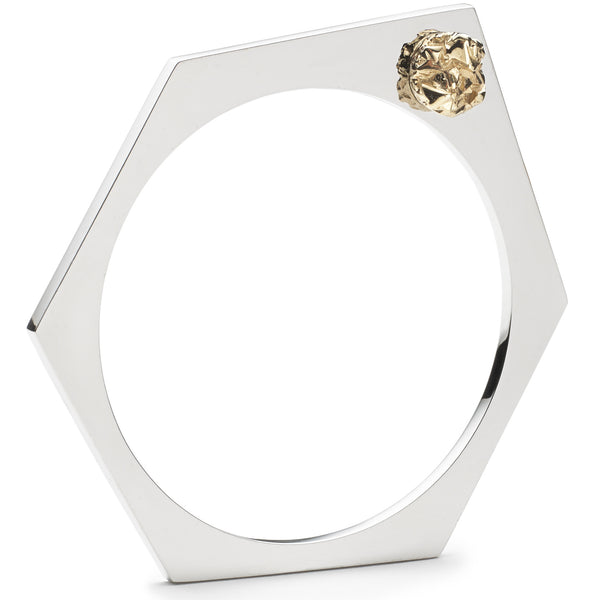 Hex Nugget Bangle