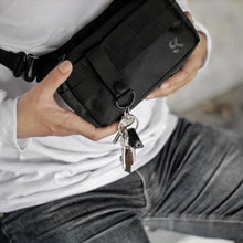 Load image into Gallery viewer, Murdock Fanny Pack - Black Strap