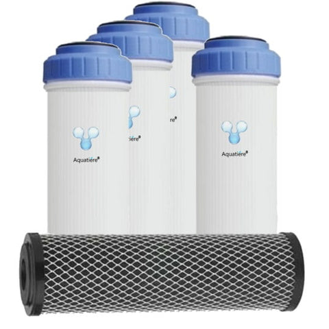 Replacement Filter Cartridges for Pureau Standard Whole House Water Filters