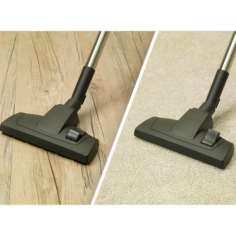 Low Friction Multi-Surface Floor Brush for AllerVac & Medivac