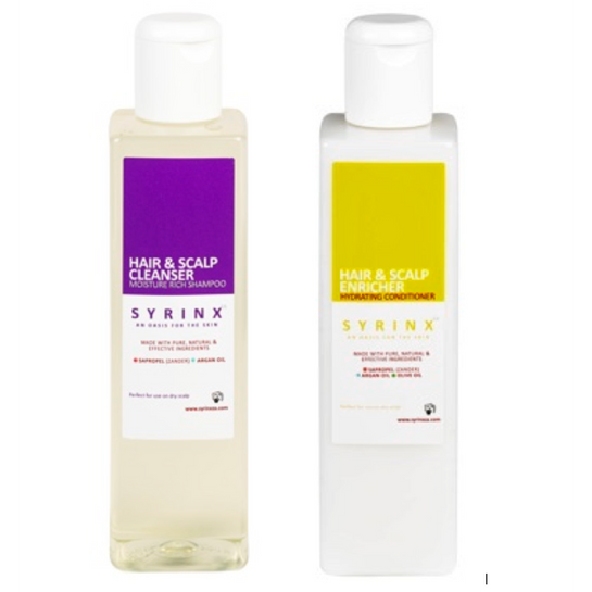 Syrinx ZA Shampoo & Conditioner for Dry and Itchy Scalps