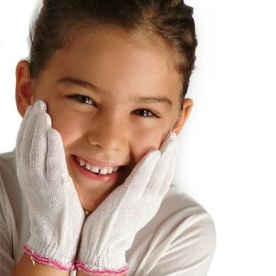 DermaSilk Therapeutic Gloves for Children from Allergy Best Buys