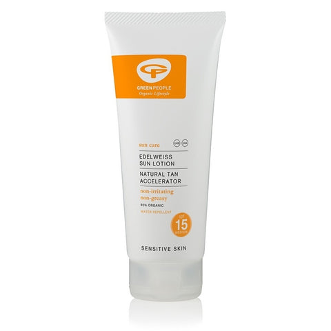 Organic SPF15 Sun Lotion with Tan Accelerator