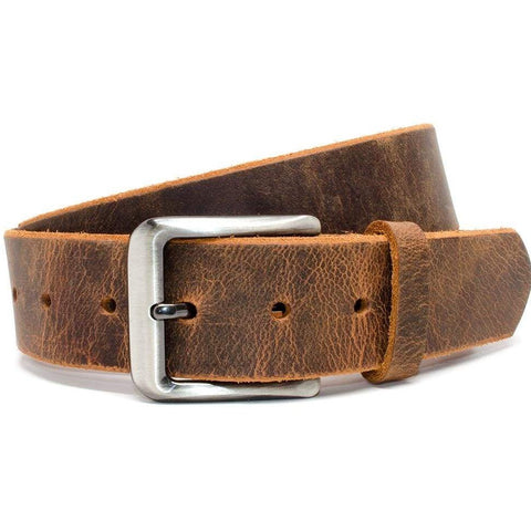 Roan Mountain Distressed Leather Nickel Free Belt