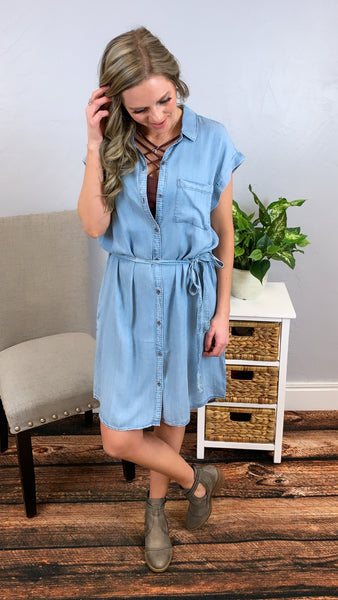 A New Day Denim Dress