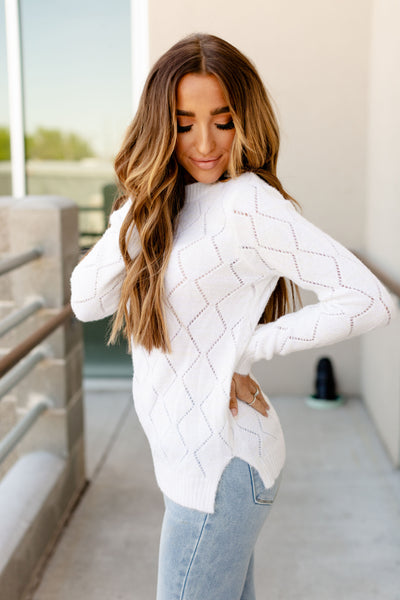 The Emily Sweater- Ivory
