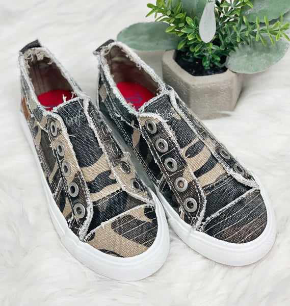 Play Sneaker- Natural Camo~ Blowfish KIDS