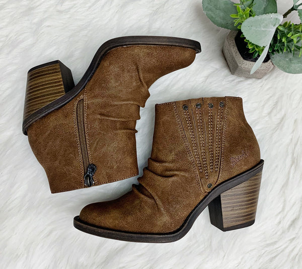 Liva Boot- Brown~ Blowfish