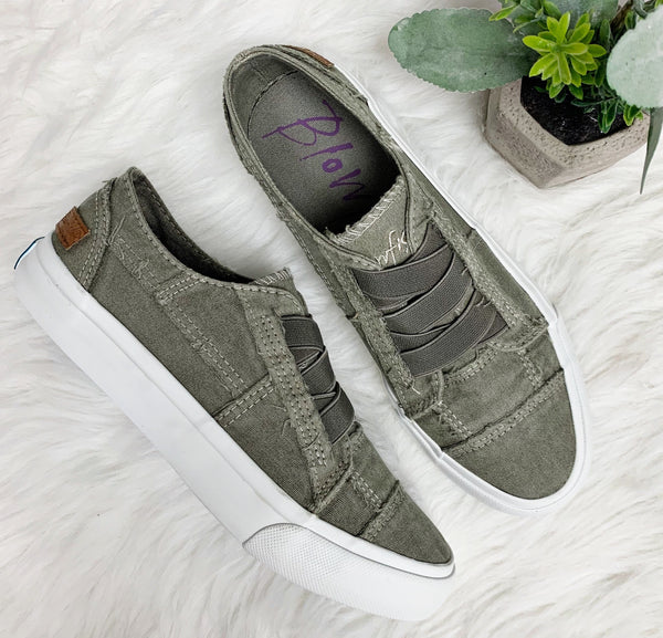 Marley Sneaker- Steel Grey~ Blowfish