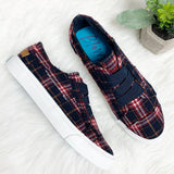 Marley Sneaker- Navy Log Cabin~ Blowfish