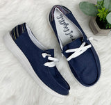 Poppy Sneaker- Navy~ Very G
