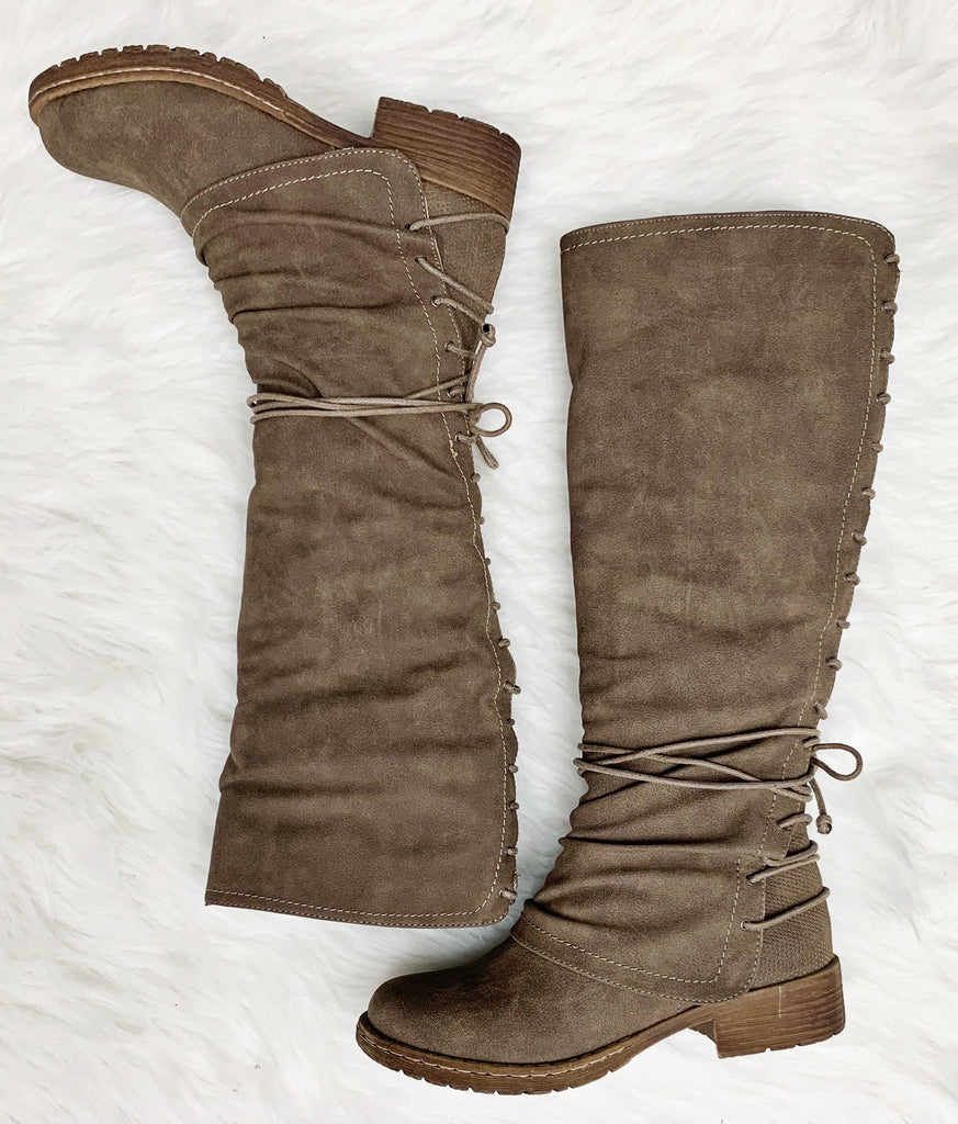 Rooney Boot- Taupe~ Very G
