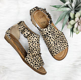 Byea Sandal- Sand Leopard~ Blowfish