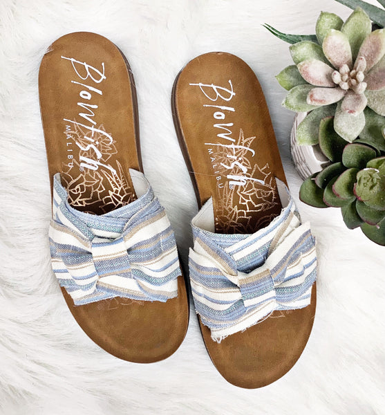 Saturn Sandal- Blue Windward~ Blowfish