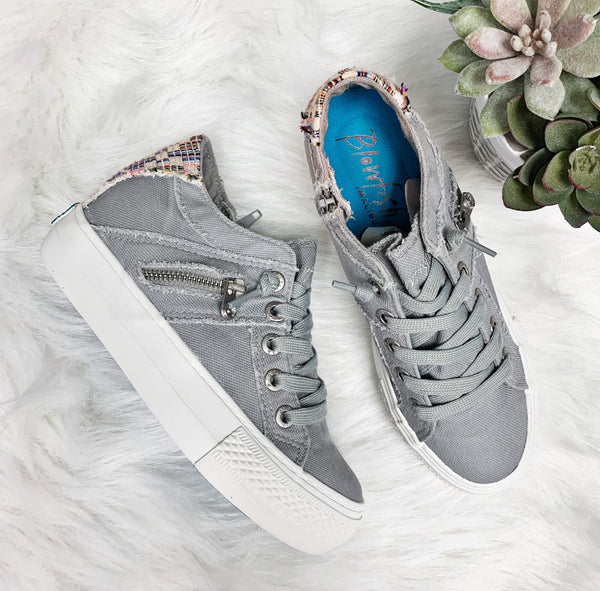 Melondrop Sneaker~ Sweet Grey- Blowfish