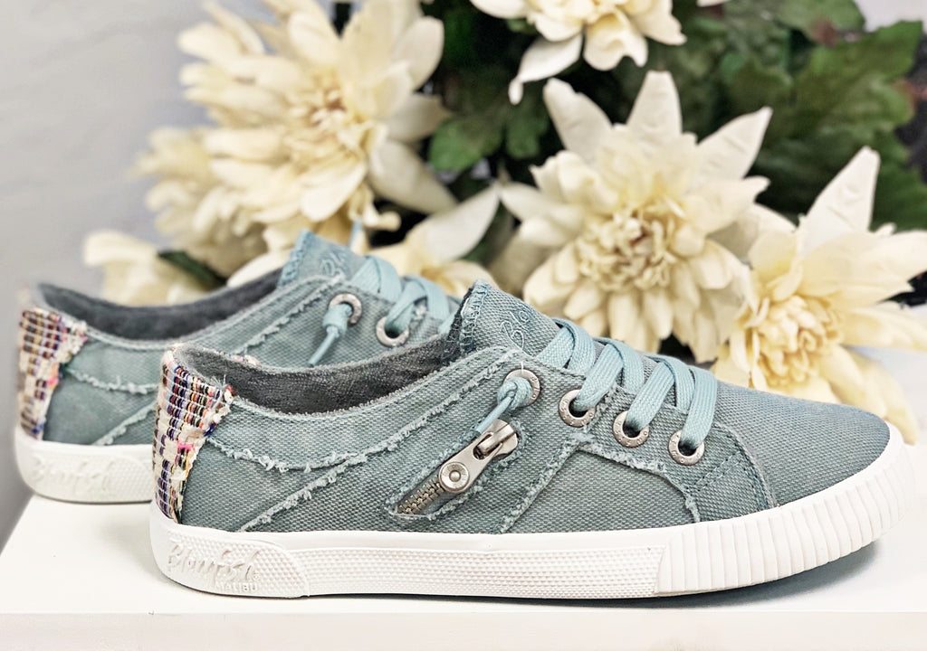 Fruit Sneaker- Dusty Blue~ Blowfish