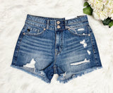 Sadie Denim Short~ KanCan