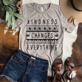 Kindness Changes Everything Tee