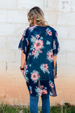 Be The Difference Floral Kimono