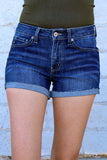 Shaycee Denim Short~ KanCan
