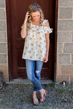 Something Extraordinary Off The Shoulder Top
