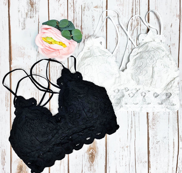 Just Us Lace Bralette