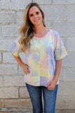 Easy To Love Tie Dye Top